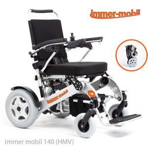 Elektro-Rollstuhl immer-mobil 140 HMV, 6 km/h, faltbar, leicht, robust, bis140kg