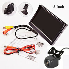 5 Inch TFT LCD Car Monitor Reverse Parking with Dynamic Track Rear View Camera