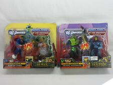 MOTUC,MOTU,HE-MAN/SUPERMAN & SKELETOR/LEX LUTHOR Classics,DC Universe,MISB,MOC