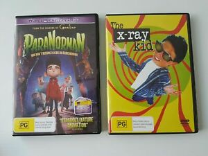 ParaNorman DVD and The X-Ray Kid DVD