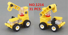 31pcs ENLIGHTEN MINI Blocks DIY Kids Building Toys Puzzle Engineering Crane 1216