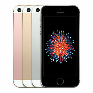 """Apple iPhone SE 4"""" 16GB 64GB 12MP Unlocked AT&T T-Mobile GSM 4G Smartphone"""