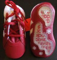 Adidas Babyschuhe Rot Weiß Gr. 18 Anti Rutschsohle Kuscheltier NEU