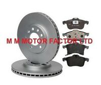 FOR VAUXHALL ASTRA H (04-) 1.4 1.6 1.7 1.9 CDTI  FRONT 280mm BRAKE DISCS & PADS