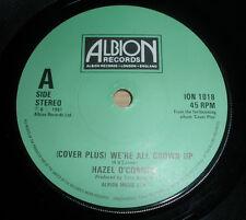 "HAZEL O'CONNOR 7 "" VINYL COVER PLUS 1981 NEW WAVE PUNK EX """