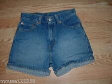 LEVI   Jeans Shorts Sz16 slim red tab super short