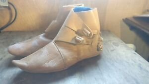 ***CLEARANCE/2ND*** Viking & Saxon Re-enactment Turn Boots.