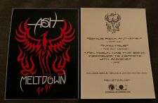 Ash Meltdown Sticker Official Promo 2004