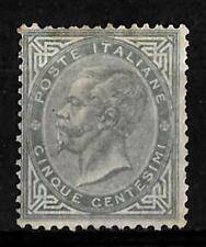 Vittorio Emanuele II° - 1863 - 5 cent -Londra - sassone 16 - linguellato