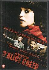 DVD ZONE 2--LA DISPARITION D'ALICE CREED--ARTERTON/MAHSAN/COMPSTON