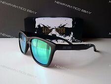 Occhiali da sole Skullrider Polarizzati. Carbon Black Emerald H01 Gruppo Hawkers