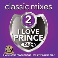 DMC I Love Prince Megamixes & 2 Trackers Vol 2 Mixes Remixes Ft Roachford DJ CD