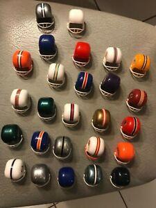 Vintage 1970s OPI (26) Miniature Football Helmets