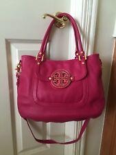 Brand NWT 100% Authentic Leather Tory Burch Amanda, Magenta Pink (511), Rare!!!!