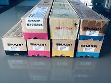 ORIGINAL SHARP MX-27GTCA CYAN -  Bleu B - Pour MX2300/2700/2300N/2700N -  NEUF