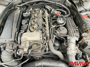 2004 Mercedes-Benz Clase C 220 CDI Diesel Desnudo Motor OM646.963 Desnudo