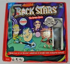 Rock Stars The Board Game COMPLETE Party Singing CD Echo Microphone Kids Fun