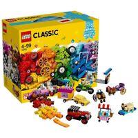 LEGO Classic Idea Parts MANY DIFFERENT WHEELS Set 10715 Block Building Toy