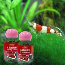 ISTA Shrimp Food 20g For Crystal Red Cherry Bee Aquarium Vitamins Free Ship Pro
