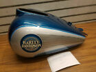 New Teal Silver Gas Tank Harley Ultra classic glide 1989-1995 OEM Factory Paint!