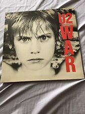 U2 - WAR 1983 Vinyl LP A1/B1