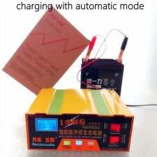 Auto 12V/24V 100AH Car Battery Charger for both Lead Acid and Lithium Batteries