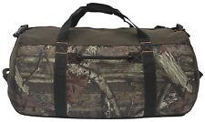 "Mossy Oak Camouflage Camo Heavy-Duty 30"" Barrel/Camp/Outdoor/Hunting Duffel Bag"