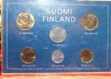 1982 Finland Suomi 6 Coin Set