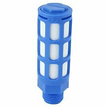 10 x Pneumatic Plastic Fine Filter/Silencer - 1/4 thread
