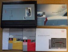 GENUINE AUDI A4 B6 HANDBOOK OWNERS MANUAL WALLET 2000-2004 PACK 12469 !