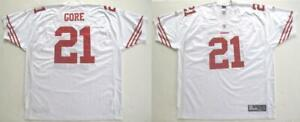 RBK SAN FRANCISCO 49ers FRANK GORE AUTHENTIC WHITE ROAD JERSEY 56