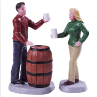 Lemax 2019 Cheers! Village Figurine #92769 Fun Attractive To Your Living Space