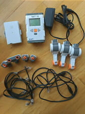 Lego Mindstorms NXT: Intelligent Brick Li Battery, Charger + 3 motors 4 sensors