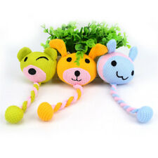 Dog Rope Toys Pet Puppy Chewing Teething Chew Tug for Dogs Interactive Toy HZ