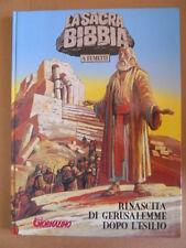 La Sacra Bibbia a Fumetti vol.5 Rinascita di Gerusalemme Giornalino 1998 [G418]