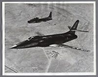 LOCKHEED XF-90 & F-80 LARGE ORIGINAL VINTAGE MANUFACTURERS PHOTO US AIR FORCE