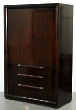 RRP £6999 SOLID ROSEWOOD RALPH LAUREN WARDROBE BI-FOLD DOORS CHEST OF DRAWERS