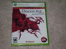 DRAGON AGE ORIGINS AWAKENING EXPANSION PACK...XBOX 360...**SEALED**NEW**!!!!!!!!