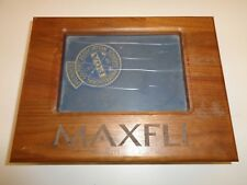 Vintage Maxfli Wood Box with Collectible Golf Balls