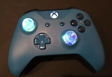 Limited Edition Blue Xbox One Controller with LED GLOWING MOD Fortnite Black Ops