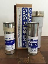 Air Filter Drier Matheson Model 450 B (SEQ450) and 451 cartridges set