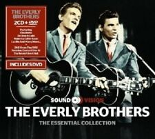 THE EVERLY BROTHERS - ESSENTIAL COLLECTION (2CD+DVD) 2 CD + DVD NEW!