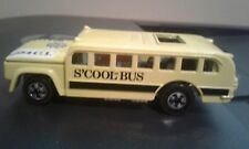 1969 Hot Wheels - Heavyweights S'cool Bus. Mint & Loose. Vintage Collection.