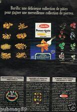 Publicité advertising 1987 Les Pates Barilla