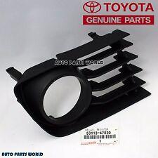 GENUINE TOYOTA 04-09 PRIUS LOWER LEFT DRIVER SIDE RADIATOR GRILLE 53113-47030