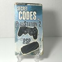 Playstation 2 and PSP 2007 RARE The Hottest Games Secret Codes for Volume 1 Book