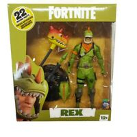 McFarlane Toys Fortnite REX 7 Inch Action Figure 22 Moving Parts Epic Games New