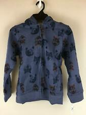 Boys OshKosh Bear And Wolf Zip Up Hoodie Size-8 Color-Blue