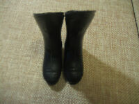Vintage Ideal 1966 Captain Action Original Black Boots