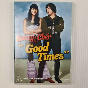 Sonny & Cher Good Times (1967) DVD - Region 4 - TRACKED POST